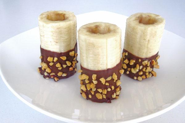 Çikolatalı muz tarifi(resimli anlatım)