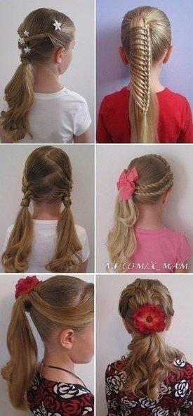 Kız çocukları için saç modelleri 6 anne kaz