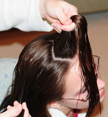 kalemle kıvırcık saç yapma